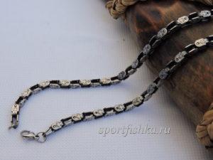 Подарок мужчине цепочка из стали с крестами