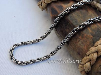 Подарок мужчине цепочка из стали якорное плетение