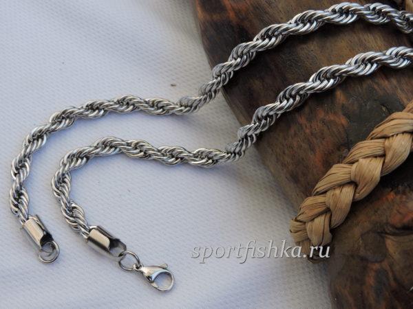 Цепочка веревка из стали