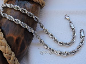 Цепочка веревка плетение