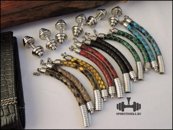спортивные браслеты из кожи змеи питона