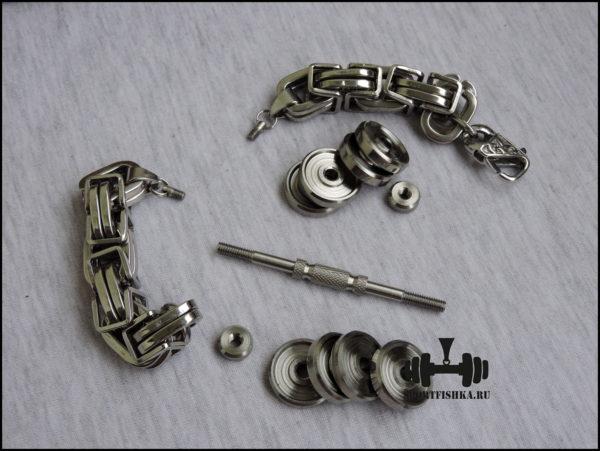 Оригинальный подарок для мужчины большой мужской браслет