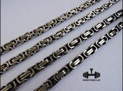 Плетение византийское цепочки из стали