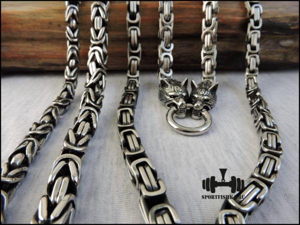 Цепочки из стали и серебра купить