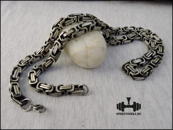 Византийская цепочка из стали фото купить