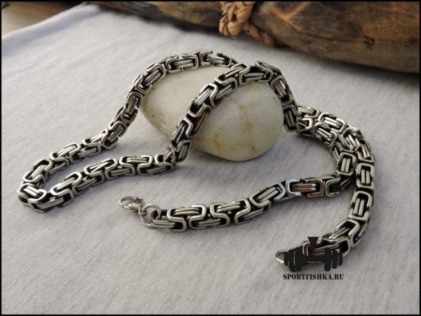Византийская цепочка из стали купить