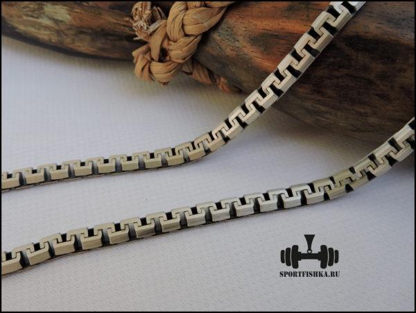 Оригинальное необычное плетение цепочки греческое