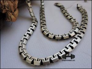 Сколоченный якорь греческое плетение цепочка