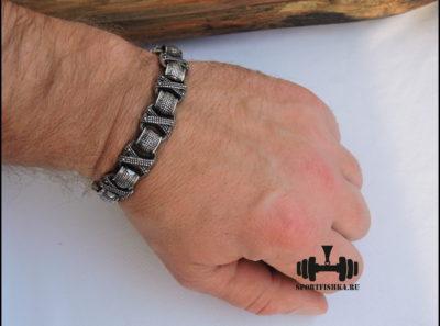 Браслет из стали для мужчин фото 06