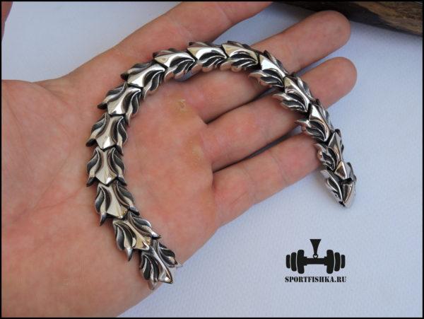 Оригинальный браслет из нержавеющей стали фото 01
