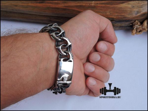 Большие браслеты на руку