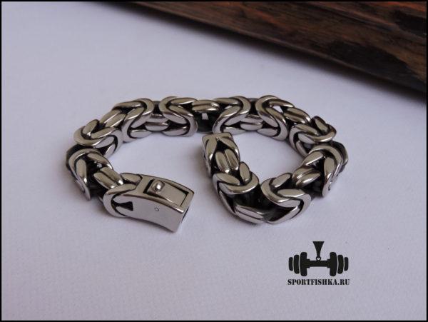 Мужские аксессуары браслеты из стали