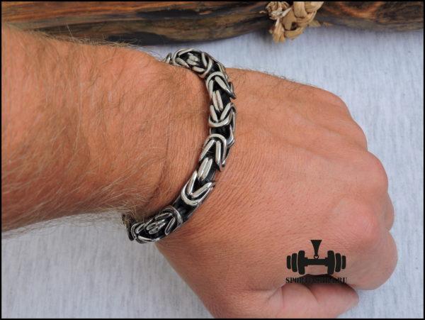 Классический стальной браслет