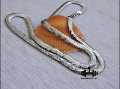 Плоская цепочка змея из стали