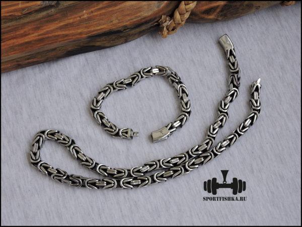 Стальные браслет цепочка лисий хвост