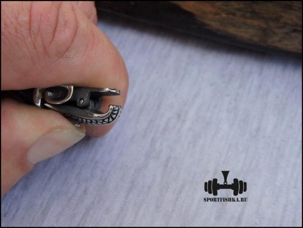 Застежка мужского браслета