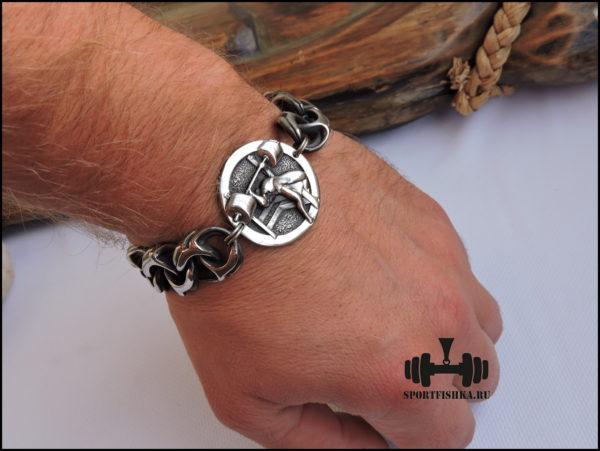 Фото спортивных аксессуаров браслет из стали