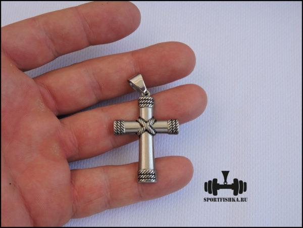 Крест из стали купить мужской
