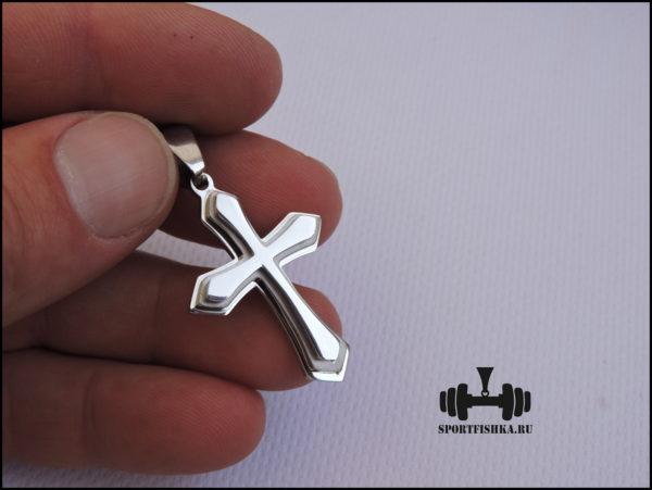 Крестик из стали фотка
