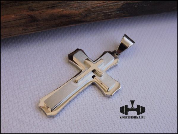 Крестик из стали купить в Москве