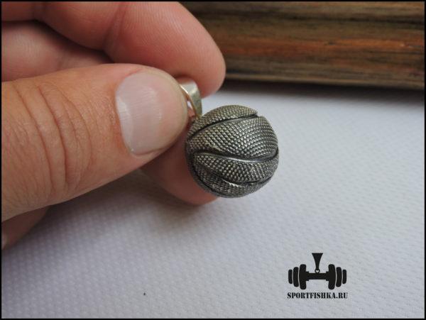 Кулон баскетбольный мяч