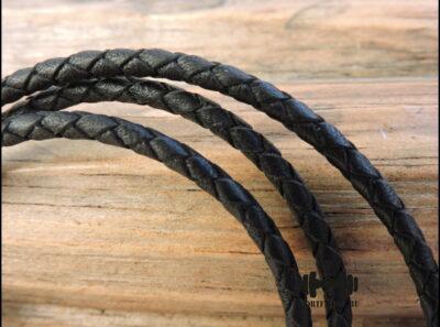 Кожаный шнур 3 мм тонкий