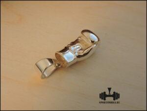 Перчатка серебряная боксерская кулон