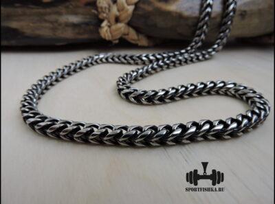 Квадратная черненая цепь из стали