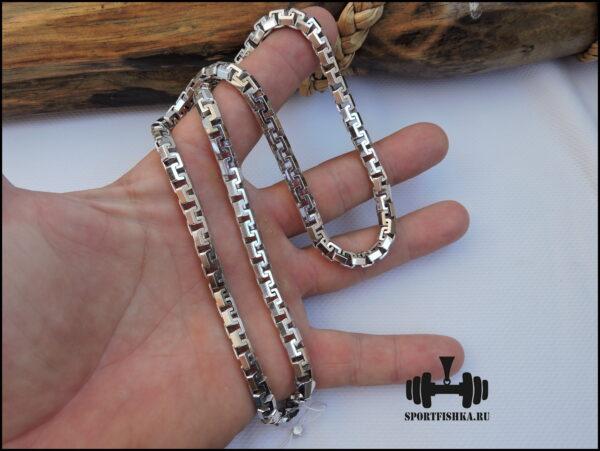 Плетение цепочки сколоченный якорь, купить